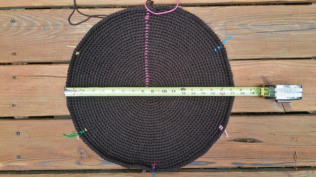 large crochet circle