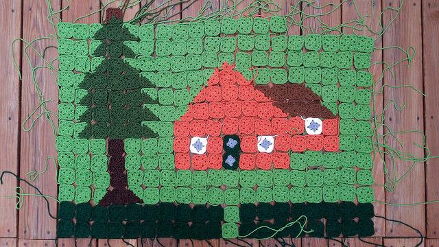 crochet picture blanket crochet granny square crochet squares