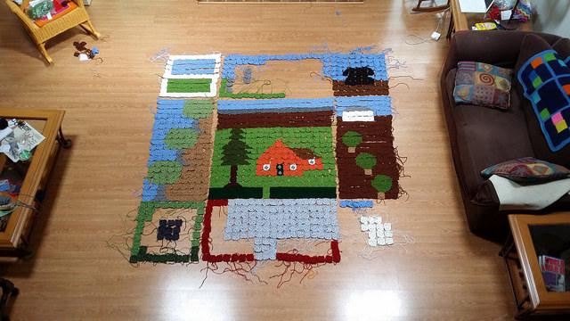 crochet granny square picture