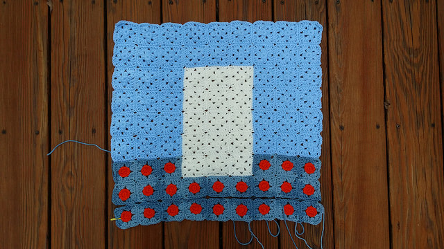 granny square crochet picture