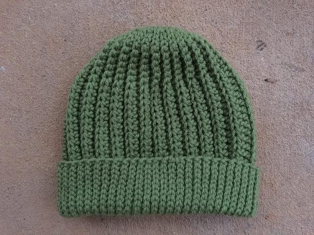 A tealeaf seafarer's cap, ready to wear