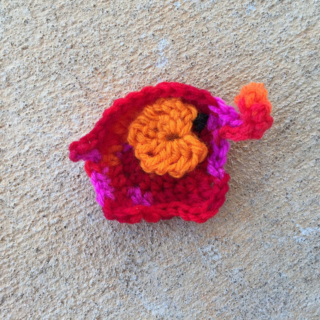 sangria crochet elephant