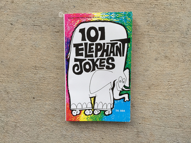 101 elephant jokes book