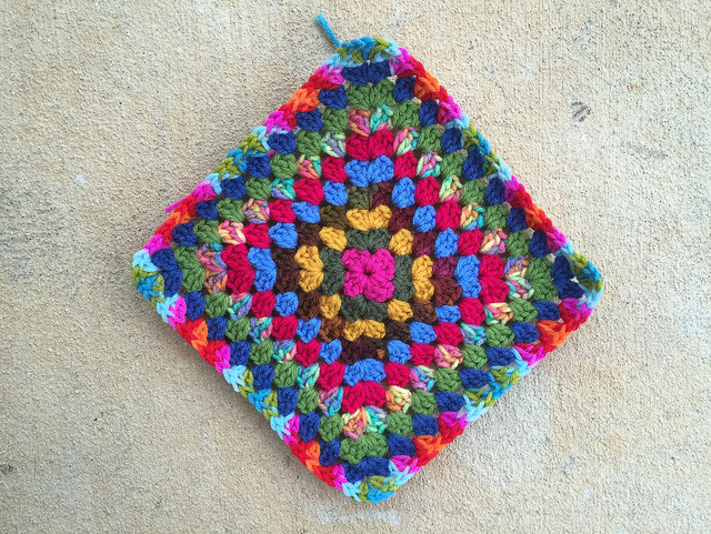 practically perfect granny square