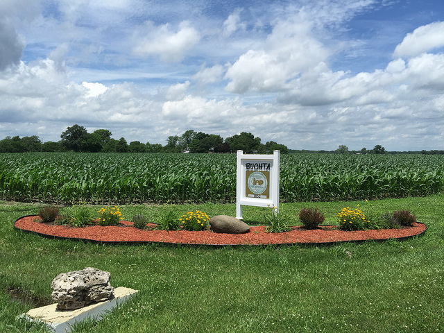 The sesquicentennial family farm in Madison County, Illinois