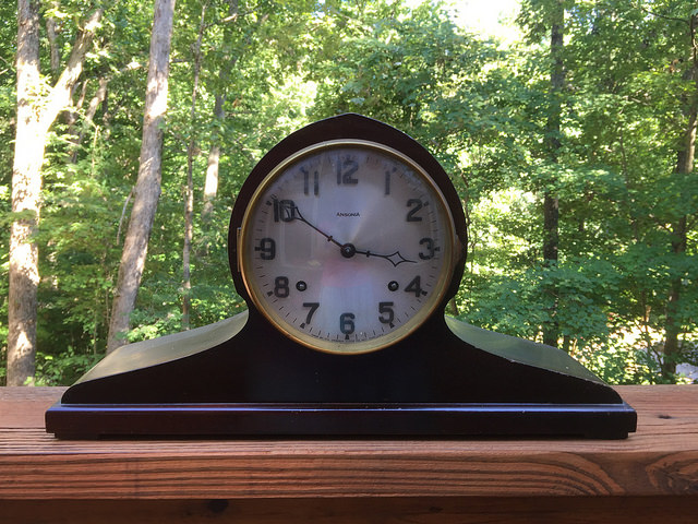 ansonia clock wedding gift