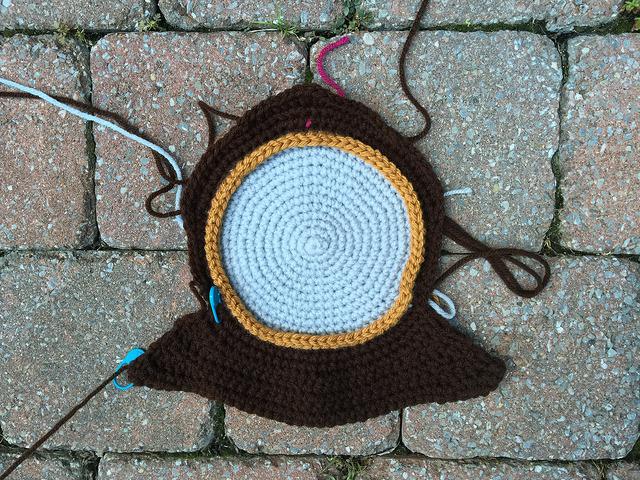 replica crochet clock ansonia