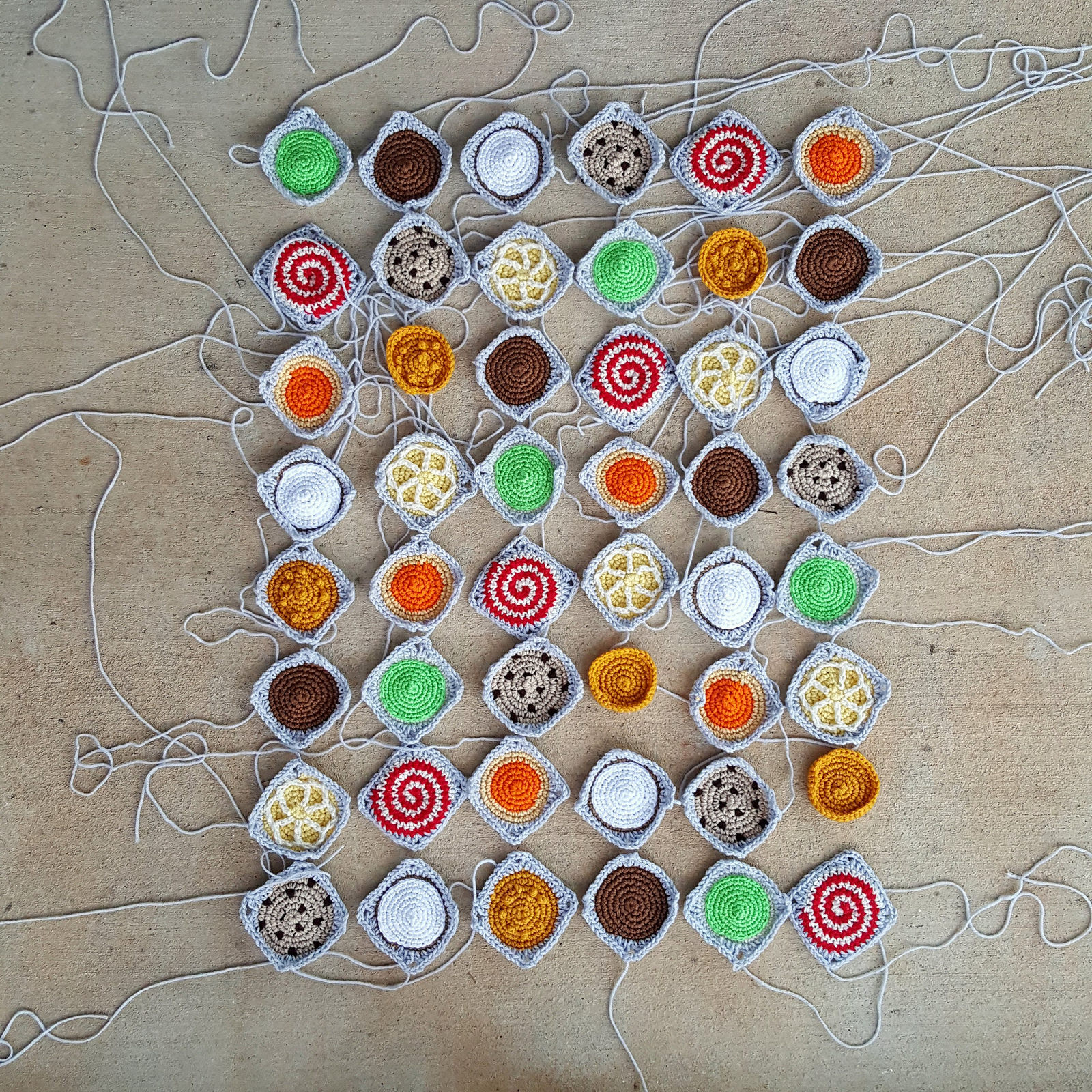 crochet cookies crochet squares