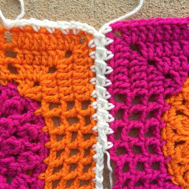 a crochet join