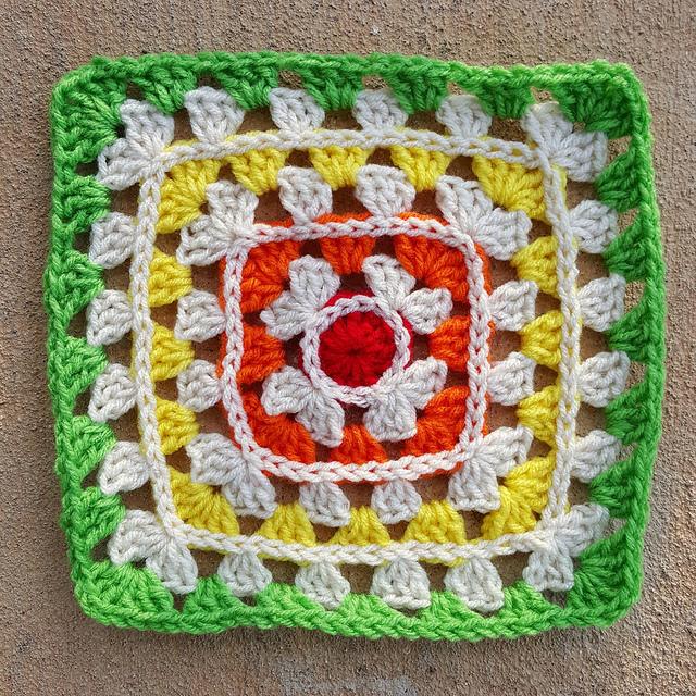granny square motif