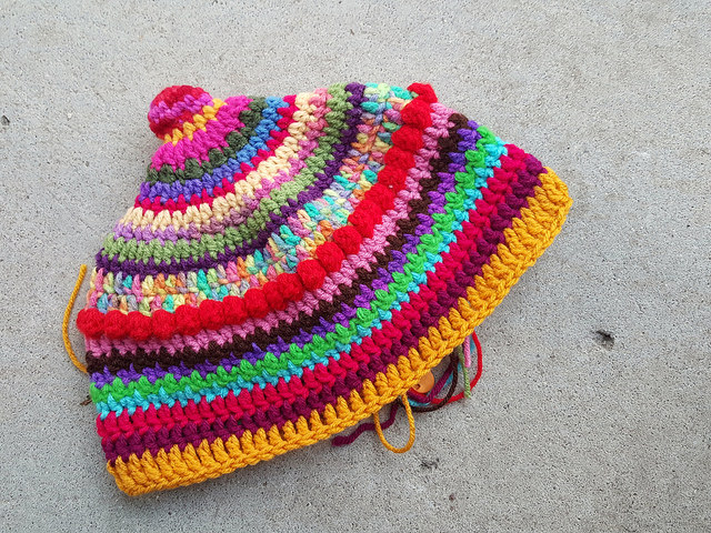 alpine crochet hat