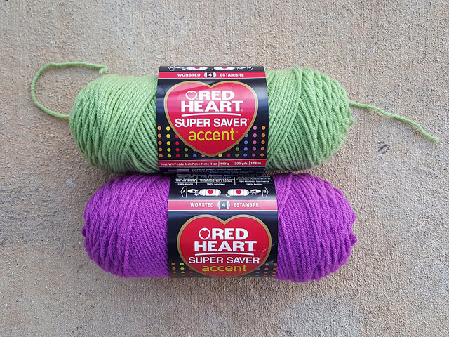 guava and orchid yarn