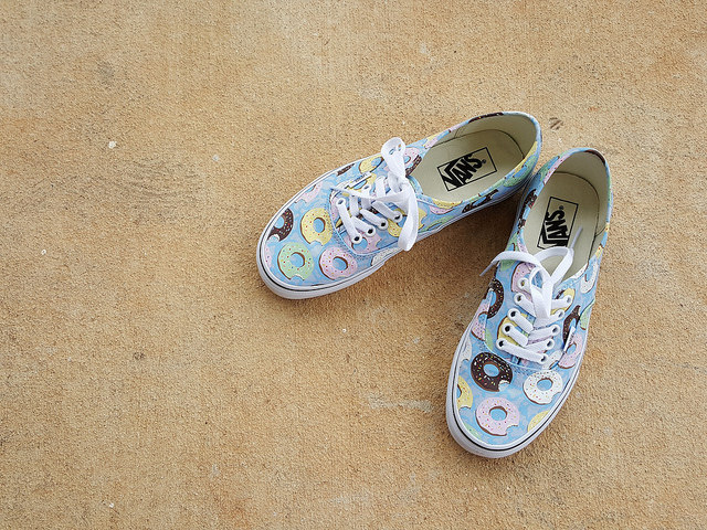 vans donut shoes