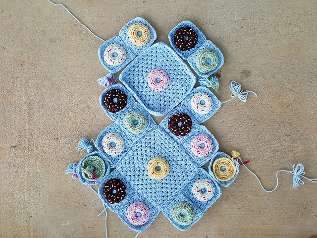 crochet donut crochet purse