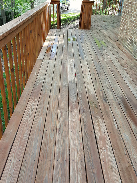 my back deck