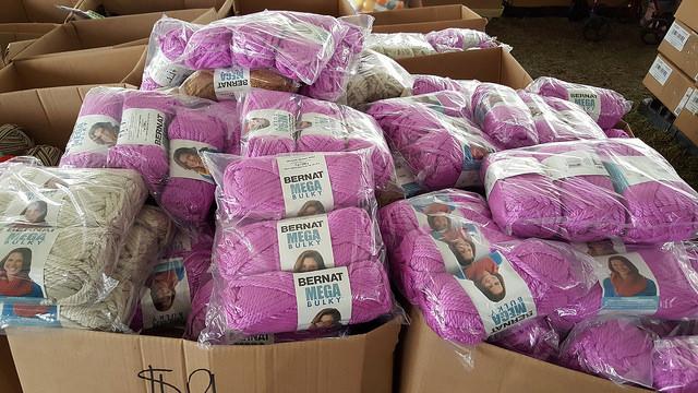 bulky yarn bin