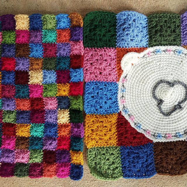 fitting crochet panels