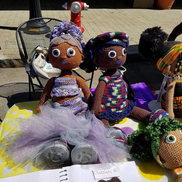 Aniqua Wilkerson crochet dolls