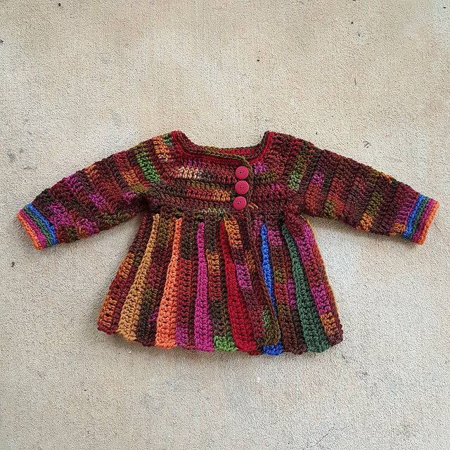 A Scooby Doo inspired baby sweater