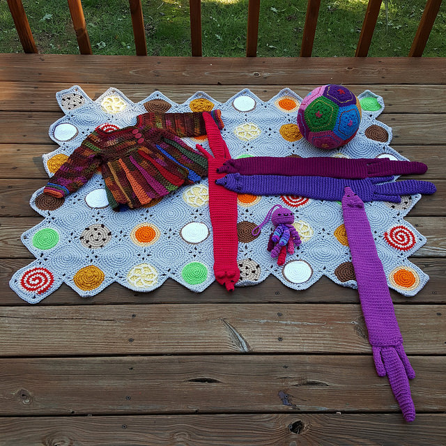crochet projects bound for the state fair