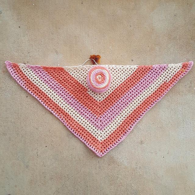 roadtrip crochet scarf