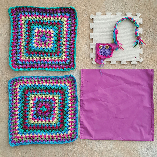 future granny square purse