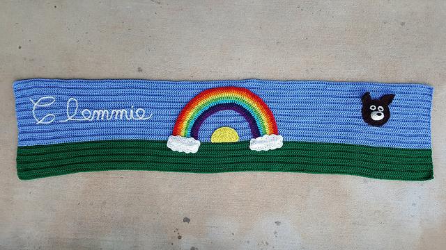 Rainbow Bridge Comfort Shawl