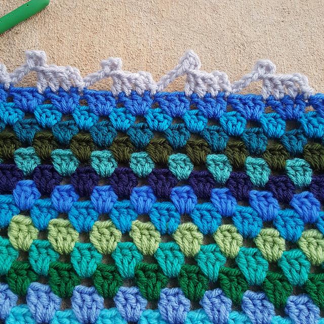 crochet elephants on parade