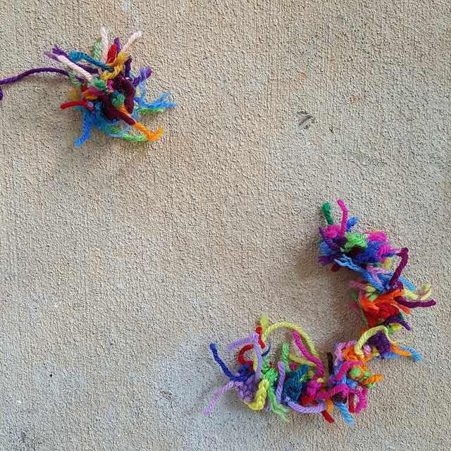 crochet ear crochet tail