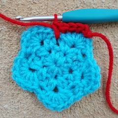 long single crochet stitch, spike stitch