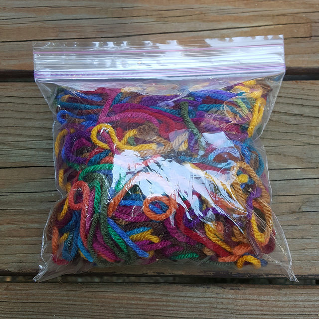 yarn scraps, crochetbug, use what you have, upcycle
