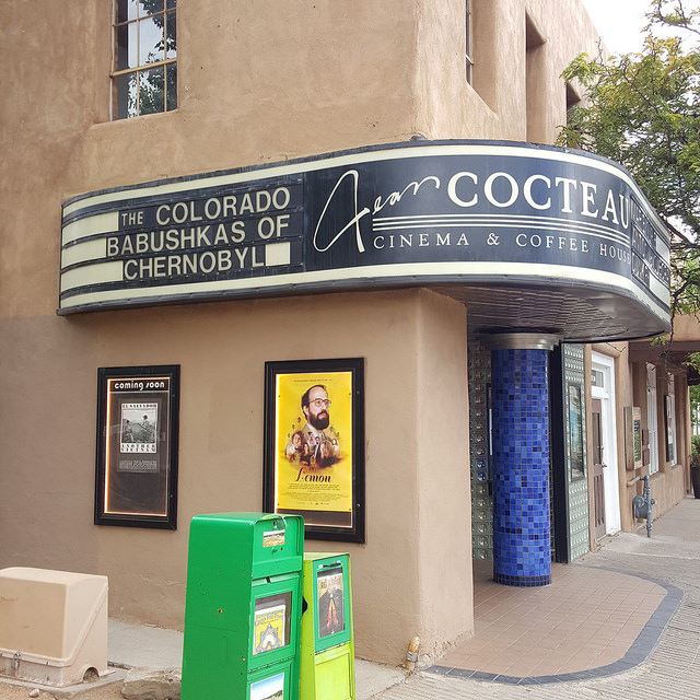 crochetbug, Jean Cocteau Cinema and Coffee House, Santa Fe, New Mexico