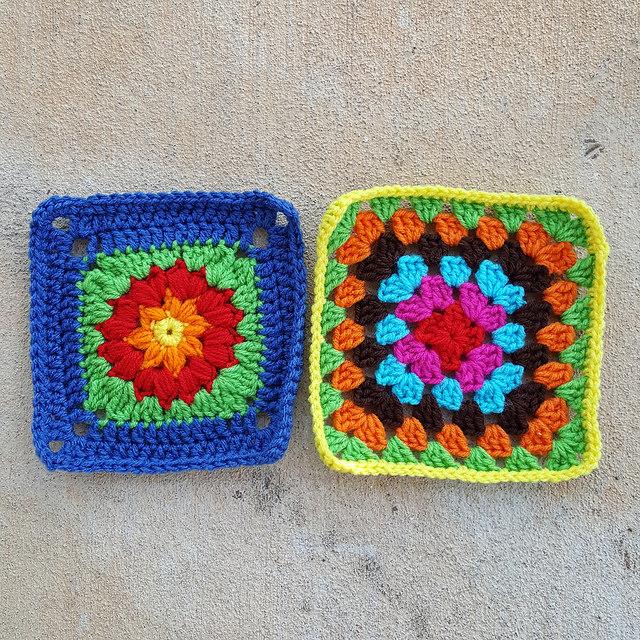 crochetbug, crochet squares, granny square, crochet circles, crochet afghan, crochet blanket, crochet throw