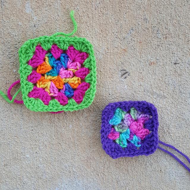 crochetbug, granny square, crochet blanket, crochet afghan, crochet squares, project amigo