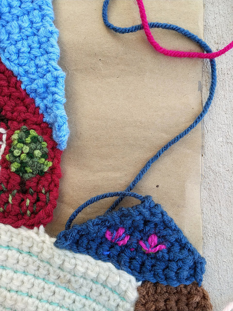 A gap in need of a crochet crazy quilt piece
