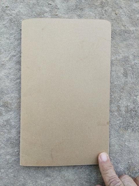 My trusty Mokeskine notebook wtih graph paper