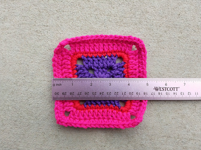 The same crochet remnant post crochet rehab