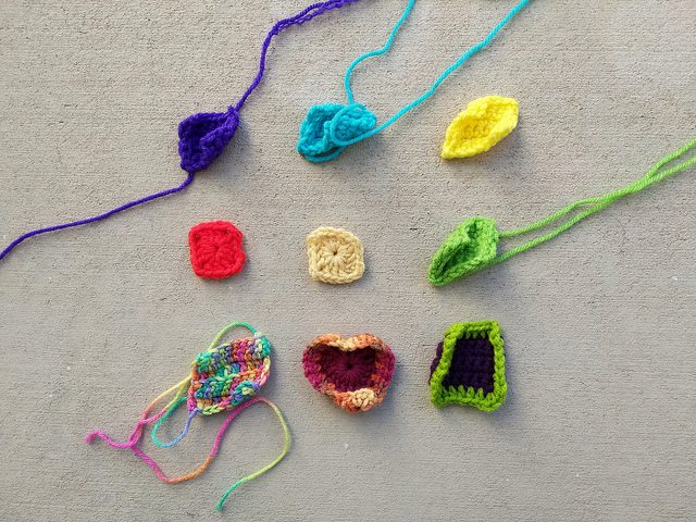 Nine crochet remnants identified for crochet rehab