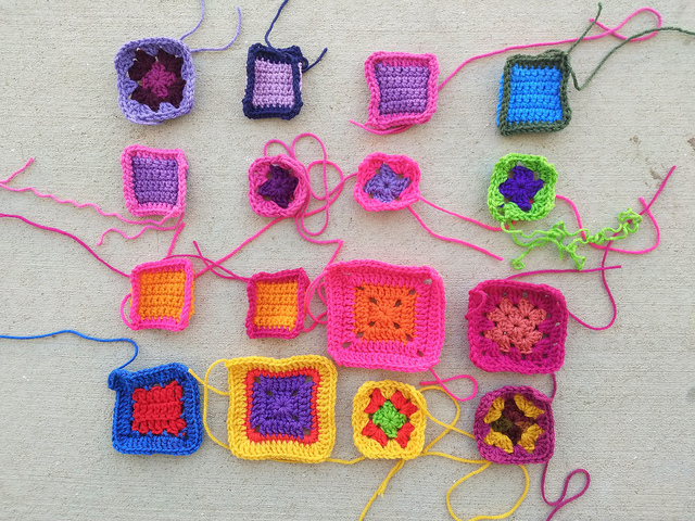 The twenty substitute crochet remnants