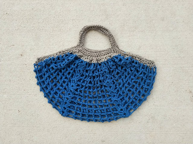 The Frankston market crochet bag