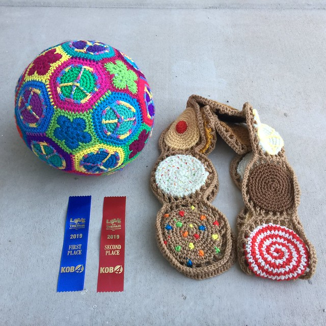 Two of my three 2019 New Mexico State Fair entries