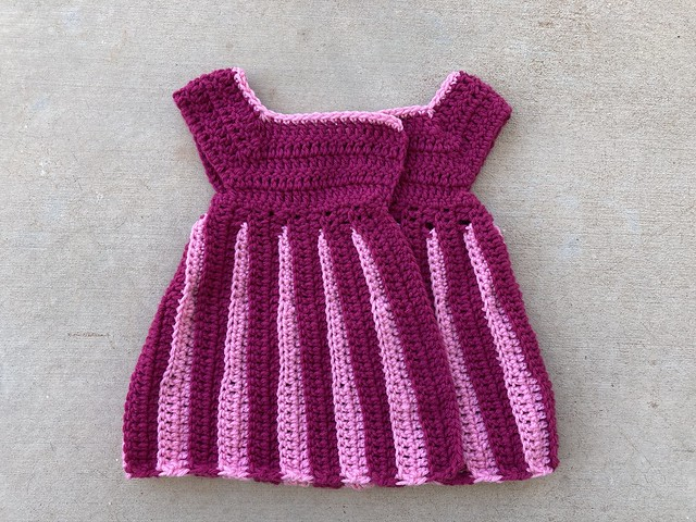 A future crochet sweater that will be part of some gift giving for a little girl
